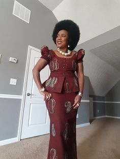 2019 Latest and Beautiful Collections of Ankara Gown Styles African Dresses For Kids, African Wear Dresses, Latest African Fashion Dresses, African Attire, African Kids, Ankara Mode, Ankara Gown Styles, Ankara Dress, Ankara Fabric