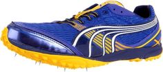 Puma Complete Haraka XCS Track ShoeSurf the WebYellowBlue12 D US -- Details can be found by clicking on the image.(This is an Amazon affiliate link)