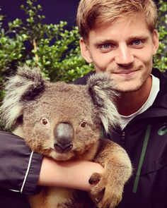 David Goffin - absolutely cute!