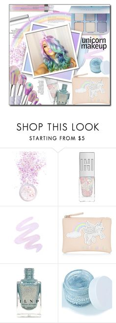 """""""#761 - Unicorn Makeup"""" by lilmissmegan ❤ liked on Polyvore featuring beauty, KAROLINA, In Your Dreams, NARS Cosmetics, Winky Lux, New Look, FCTRY, BeautyTrend, Beauty and unicorn"""