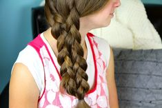 Lace-Up Braid | Easy Braid Hairstyles