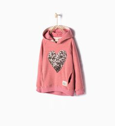 Image 1 of Basic sweatshirt from Zara Jogging, Kids Winter Fashion, Kids Fashion, Kids Fathers Day Gifts, Ropa American Girl, Trendy Kids, Cute Outfits For Kids, Kind Mode, Kids Girls