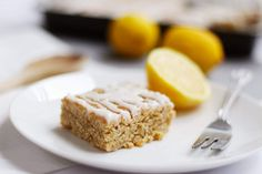 Lemon Drizzle Flapjack   Lemon Curd Flapjack Icing Drizzle   Inspired by Graze Snack Boxes   Easy Less Than 30min Recipe   Breakfast or Dessert