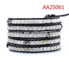 2013 Popular and hottest leather chain wrap bracelet, View wrap around leather bracelet, Pealing Product Details from Guangzhou Pealing Jewelry Co., Ltd. on Alibaba.com
