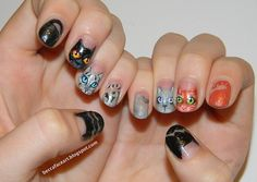 Risultati immagini per nails with cat designs