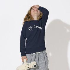 Sweat-shirt Fille à papa - Fille