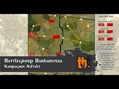 Auftakt der Battlegroup Barbarossa Kampagne [TB-TV #106] http://tabletop-gorilla.de/video/auftakt-battlegroup-barbarossa-kampagne/ In der ersten Folge stellen uns Sascha und Thomas den Ablauf der Battlegroup Barbarossa Kampagne vor. Außerdembestreiten sie auch gleich das erste Spiel.  Ich denke das sollte man sich nicht entgehen lassen! -Tariq