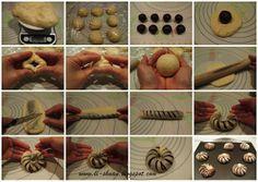 Кухня Елены: 红豆 面包 卷 (красная фасоль Rolls)