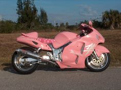 That is an awkward colour for a bike but the hell! It's a Hayabusa