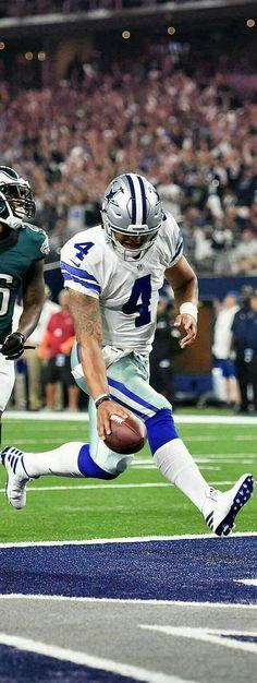 Dak for the touchdown!