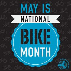National Bike Month: May National Bike Month, Bike Humor, Bicycling, Fitness, Travel, Cycling, Biking, Viajes, Bicycles