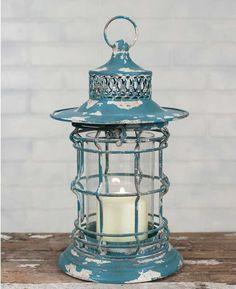 Simple Shabby Chic Bayside Lantern