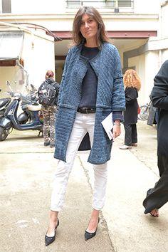 VOGUE fashion   snap   おしゃスナ@クチュールをエディターがcheck! 【Part1 スナップ常連編】   4 エマニュエル・アルト