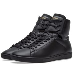 28397aebde83f1 SAINT LAURENT SAINT LAURENT SL01 HIGH TOP SNEAKER.  saintlaurent  shoes
