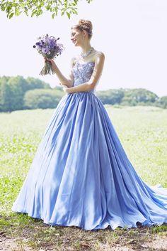no.23789 - COLOR | 新宿でウェディングドレスをレンタルするならブライダルサロンHANA