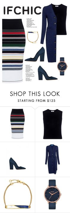 """""""IF CHIC"""" by fanfanfann ❤ liked on Polyvore featuring Preen, A.L.C., Dee Keller, M.i.h Jeans, Edge of Ember, Nixon, summersale and ifchic"""