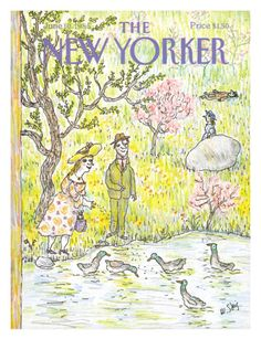 The New Yorker Cover - June 10, 1985  William Steig