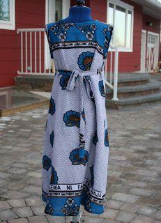Stitched By His Love: Kanga Jumper Dress