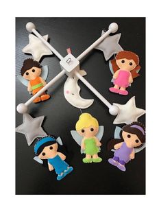 Baby Crib Mobile Cribs Tinkerbell Disney Fairies Mobiles My Mom Bedding Beds