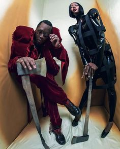 The 2018 @pirelli calendar features an all-black cast with superstars the likes of @diddy and @i_am_naomi_campbell! #HarpersBazaarSG via HARPER'S BAZAAR SINGAPORE MAGAZINE OFFICIAL INSTAGRAM - Fashion Campaigns  Haute Couture  Advertising  Editorial Photography  Magazine Cover Designs  Supermodels  Runway Models