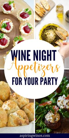 We all know that appetizers are way more fun than sit down dinners, especially on wine night. Here are 35 appetizers perfect with wine. Girls Night Appetizers, Girls Night In Food, Wine Party Appetizers, Quick Appetizers, Night Food, Appetizer Recipes, Snack Recipes, Party Side Dishes, Cute Snacks