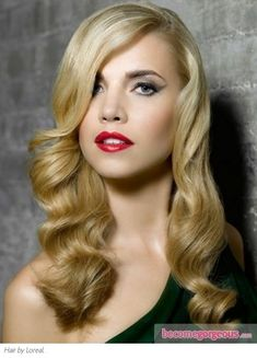 Long Vintage Curls Hair Style - Long Hairstyles Pictures