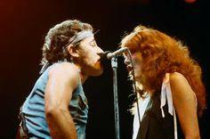 Bruce Springsteen Patti Scialfa. x