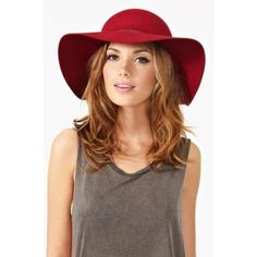 Red Floppy Hat