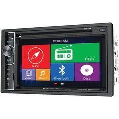 Kenwood DDX374BT 6.2 Inch 2-DIN In-Dash CD//DVD//D Receiver with Built-In Bluetooth Renewed