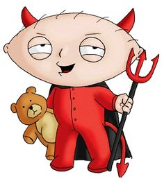 Share graphics with friends: bad stewie