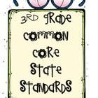 I combined several documents about the common core and the examples/explanations I found for the standards are based on the Arizona Department of E...