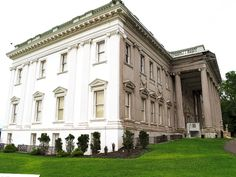 The Staatsburgh State Historic Site preserves a Beaux-Arts mansion designed by McKim, Mead, and White and the home's surrounding landscape in the hamlet of #Staatsburg, Dutchess County, New York, USA. The mansion is considered a fine example of the great estates built during the Gilded Age.