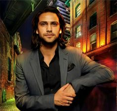 Luke Pasqualino - digital artwork courtesy of my friend Kelly Burrows