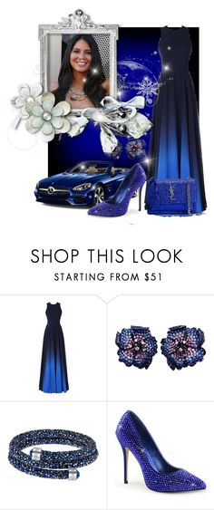 """""""Untitled #4381"""" by princhelle-mack ❤ liked on Polyvore featuring Mercedes-Benz, Swarovski and Yves Saint Laurent"""