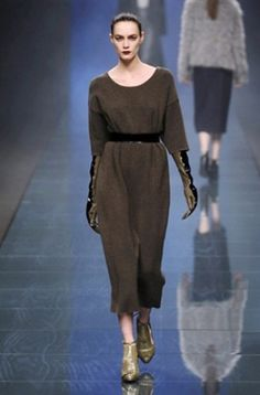 Sweater dress Anteprima Fall-Winter 2013-2014 :: Milan Fashion Week