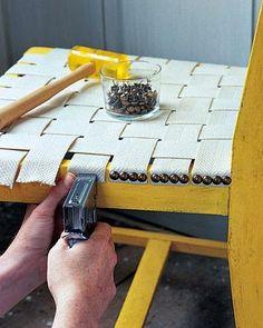 Tutoriales y DIYs: Tapizar una silla vieja