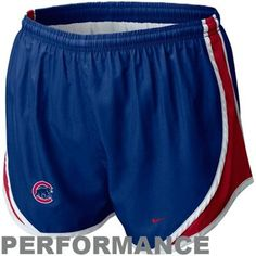 Nike Chicago Cubs Ladies Royal Blue MLB Tempo Performance Shorts - $29.95