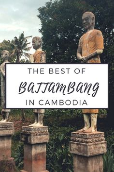 Located in the Northwestern side of Cambodia, Battambang is a place worth visitng. Check the best places to visit and things to do in Battambang. Cambodia Itinerary, Cambodia Beaches, Cambodia Travel, Thailand Travel, Asia Travel, Battambang Cambodia, Backpacking Asia, International Travel Tips, Travel Oklahoma