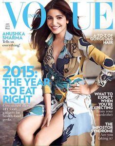 Anushka Sharma Vogue Magazine Cover Janaury 2015
