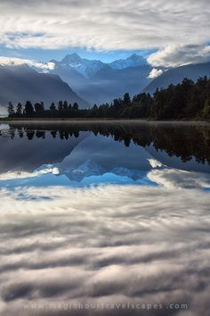 Mount Cook National Park, New Zealand;  by Kah Kit Yoong