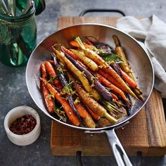 Spiced Roasted Carrots | WS