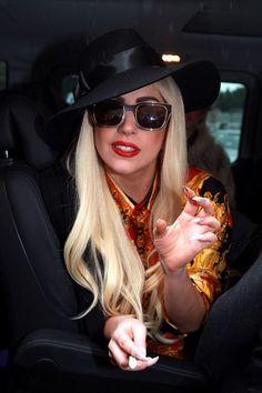 Lady Gaga Photos Photos - BYLINE: EROTEME.CO.UK.Lady GaGa outside the Park Hyatt Hotel in Sydney Australia on June 26th 2012. - Lady Gaga in Sydney