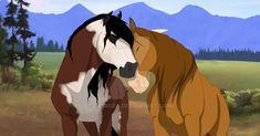 Art Trade Pipp and Pheonix by Casadea Horse Cartoon Drawing, Horse Drawings, Cartoon Drawings, Animal Drawings, Spirit Horse Movie, Spirit The Horse, Spirit And Rain, Beautiful Horses, Animals Beautiful