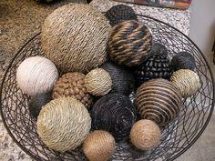 DIY Home Decor Balls
