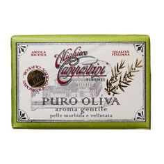 Alighiero Campostrini Aroma Gentile Puro Oliva, 150 Grams by Alighiero Campostrini. $8.50. 100% olive oil soap bar. Made in italy. Skin-softening and antioxidant-rich made with 100% olive oil. A skin-softening antioxidant-rich bar made with 100% olive oil. This old world recipe uses a traditional boiled process where only pure olive oil is used throughout the soap production.