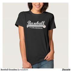 Basebal Grandmother Women's Basic T-Shirt