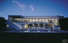 Charles Gwathmey's Modernist Masterpieces : Architectural Digest