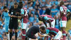 Sergio Aguero: Man City contest FA violent conduct charge for Winston Reid elbow - BBC Sport