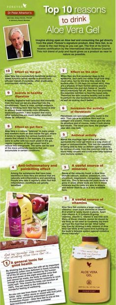 Top 10 reasons to drink Aloe Vera Gel #Forever-Living http://myflpbiz.com/esuite/home/ukforeverlivingproducts