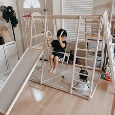 Playroom Design, Kids Room Design, Kid Playroom, Kids Indoor Playground, Ideias Diy, Baby Gym, Kids Furniture, Plywood Furniture, Bedroom Furniture